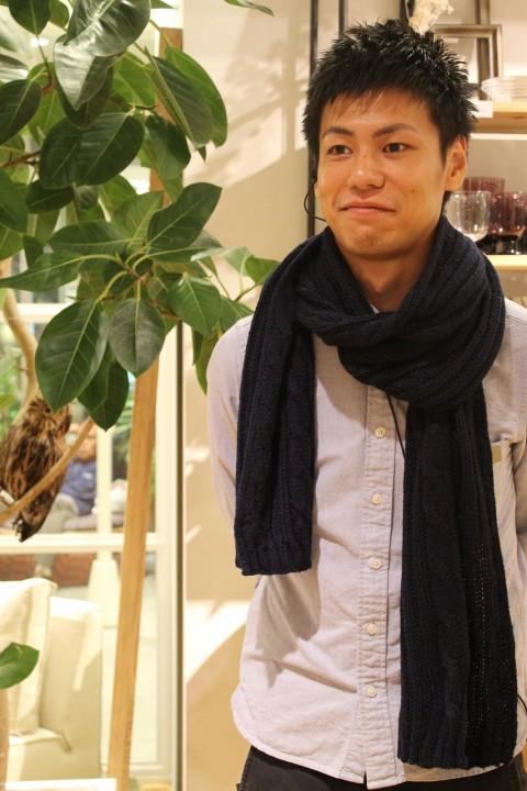 吉田さん ストール